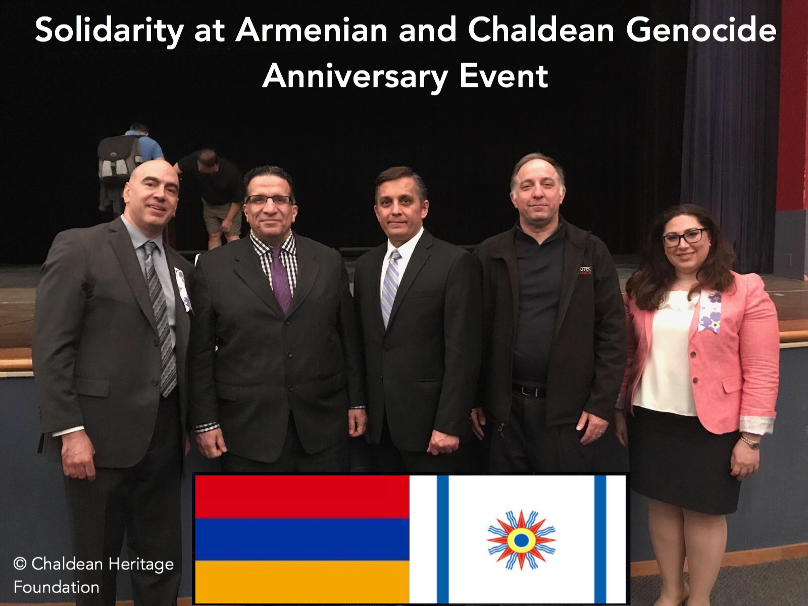 Chaldeans and Armenians are Standing Together in Solidarity of our people