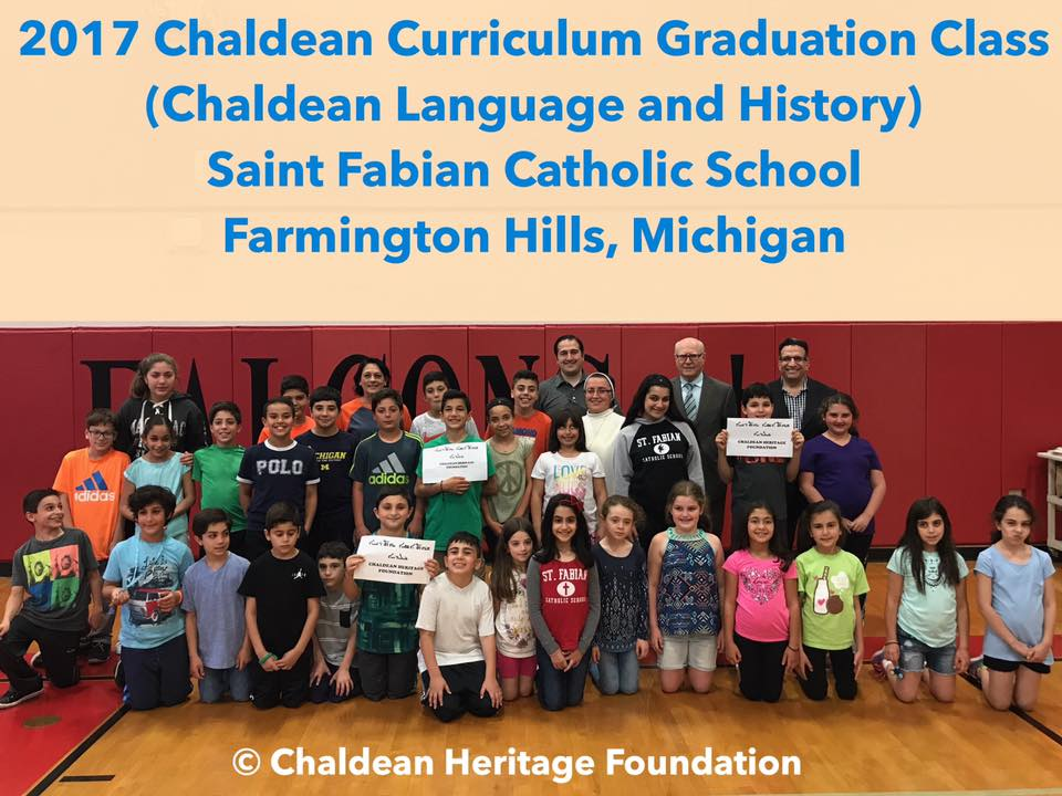 Historical Milestone – First Chaldean Language and History Graduation Class in America